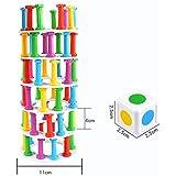 F Fityle 高品質 教育玩具 棒 タワーリング タワー崩壊 バランスゲーム ボードゲーム 玩具