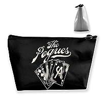 POGUES ポーグス ACE 収納バッグ 化粧バッグ 化粧ポーチ 収納 ラダー バスルームポーチ 旅行用品 大容量 軽量 防水 筆記具 小物収納袋 男女兼用 ユニークバック