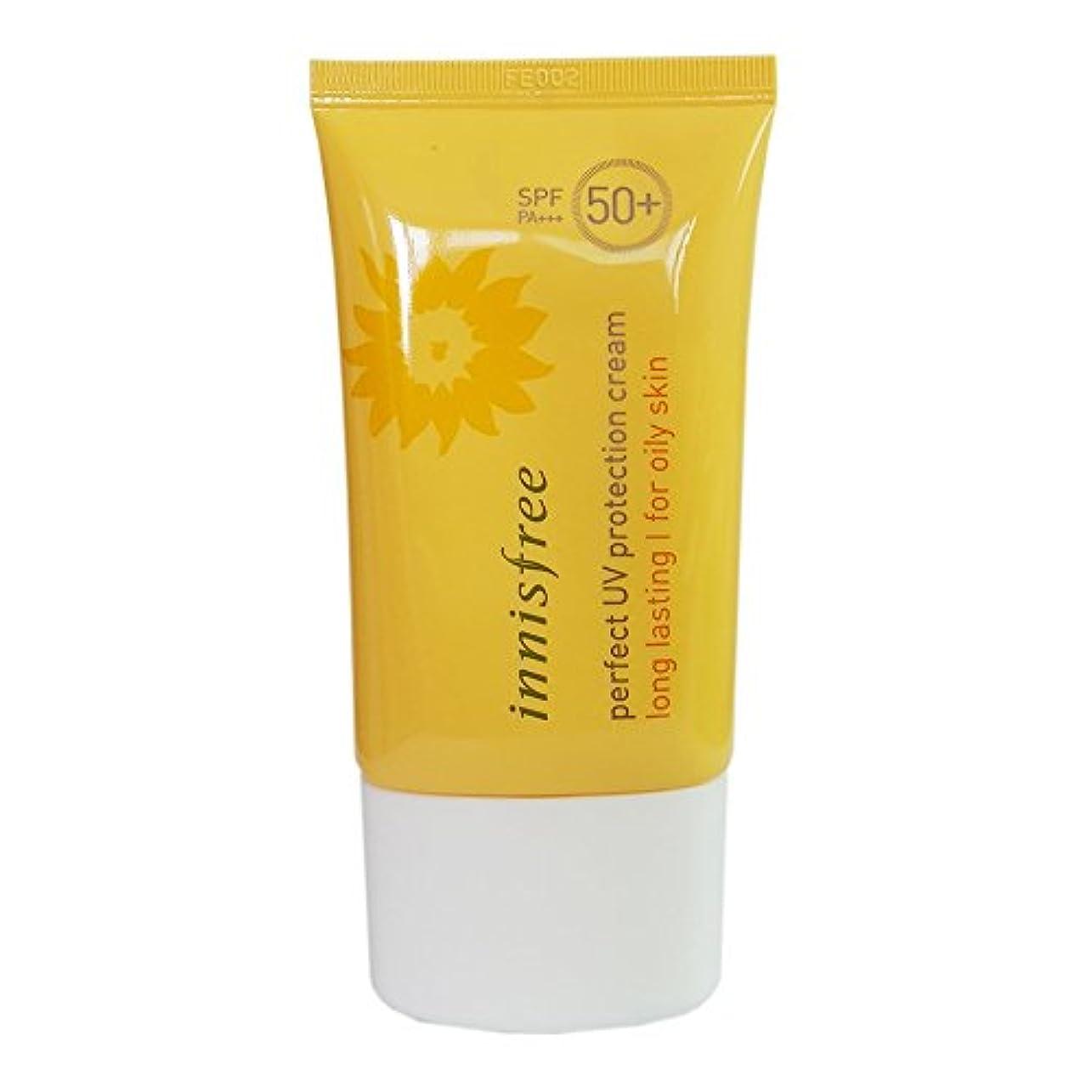 前にギャップリー[イニスプリー]Innisfree パーフェクトUVプロテクションクリームロング?ラスティング 脂複合性肌用 SPF50+PA+++ 50ml Innisfree Perfect UV Protection Cream...