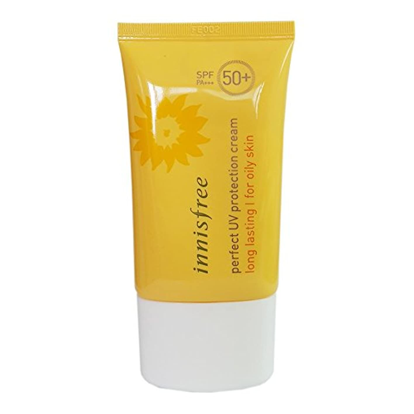 ダウン馬鹿特性[イニスプリー]Innisfree パーフェクトUVプロテクションクリームロング?ラスティング 脂複合性肌用 SPF50+PA+++ 50ml Innisfree Perfect UV Protection Cream...