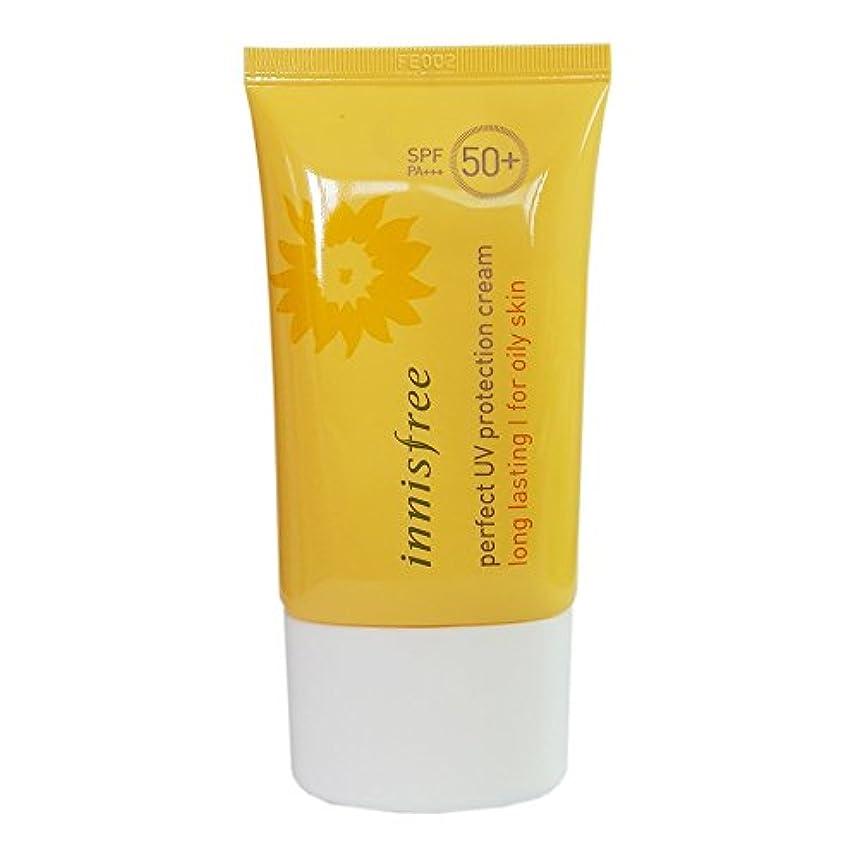 鉛マウスピース構想する[イニスプリー]Innisfree パーフェクトUVプロテクションクリームロング?ラスティング 脂複合性肌用 SPF50+PA+++ 50ml Innisfree Perfect UV Protection Cream Long Lasting For Oily skin SPF50+PA+++ 50ml [海外直送品]