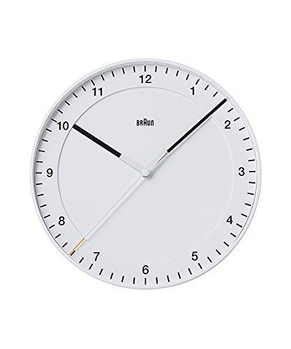 BRAUN ブラウン BNC017WHWH BNC017BKBK 壁掛け時計 (ホワイト)