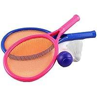 ミニラブリーキッズテニスラケット子供ボールのおもちゃバドミントンおもちゃ