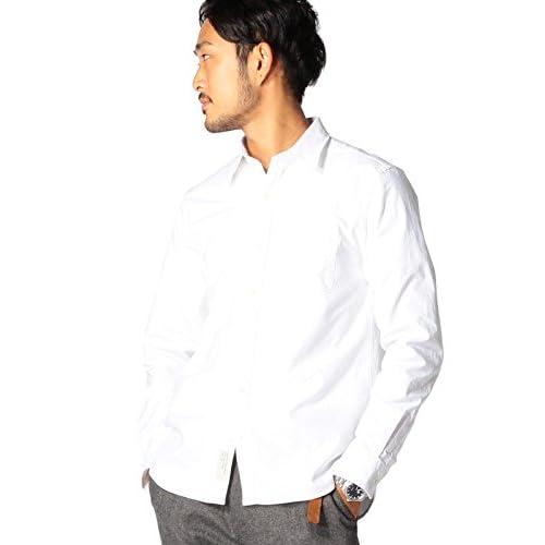 (ビームス) BEAMS / ストレッチ オックス ミニ襟 シャツ: 11112524803 1 WHITE M