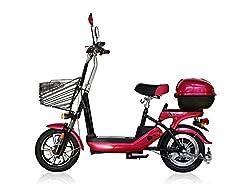 電動バイク 電動スクーター bycleL6(バイクル エルシックス) チェリーピンク 低シート高の軽量タイプ。
