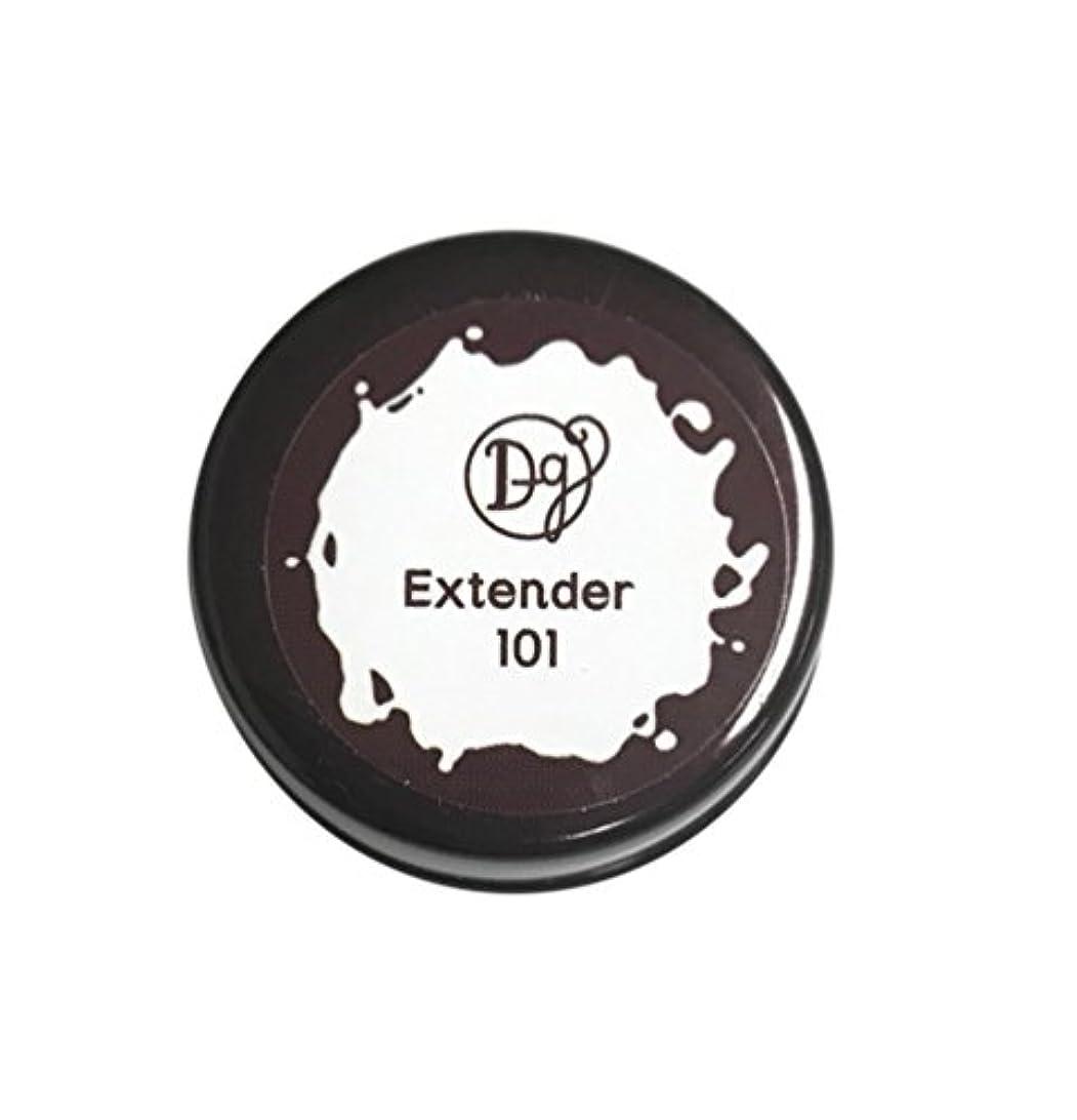 エチケット構造きつくDECORA GIRL カラージェル #101 エクステンダー