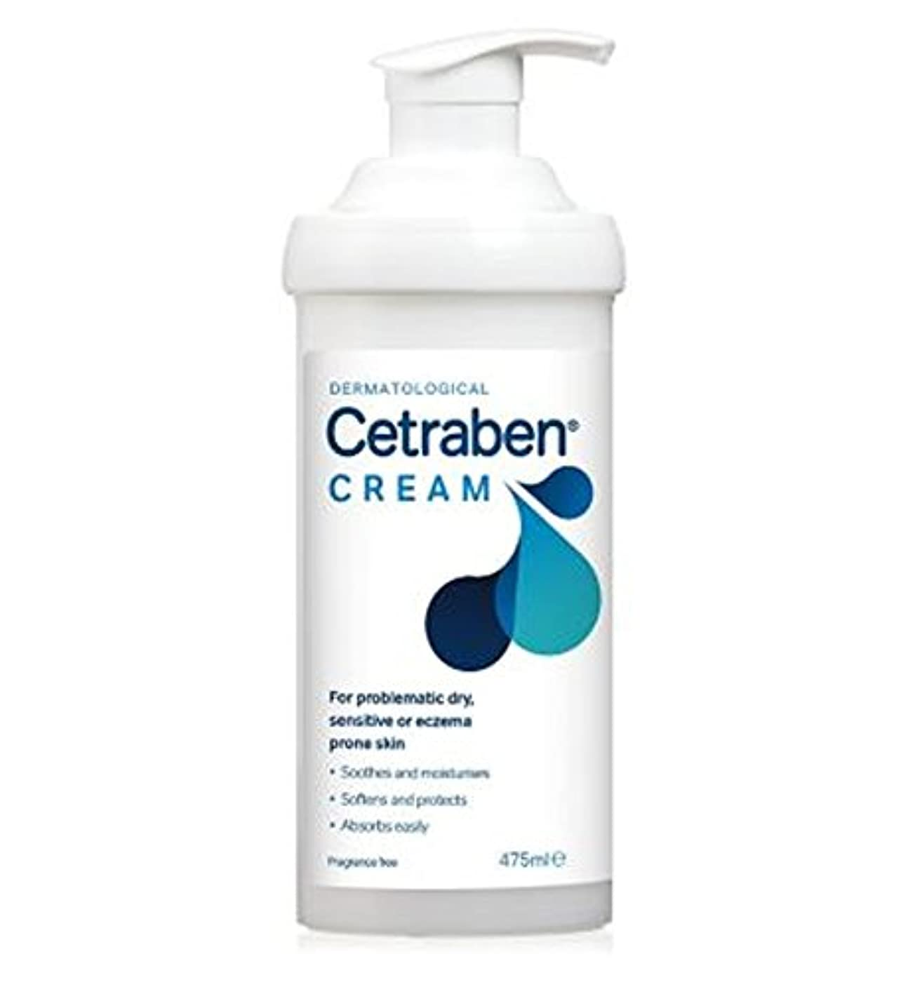 幸福垂直小数Cetrabenクリーム475ミリリットル (Cetraben) (x2) - Cetraben Cream 475ml (Pack of 2) [並行輸入品]