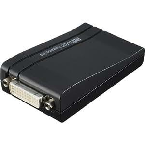 ラトックシステム USB2.0マルチディスプレイアダプタ REX-USBDVI2
