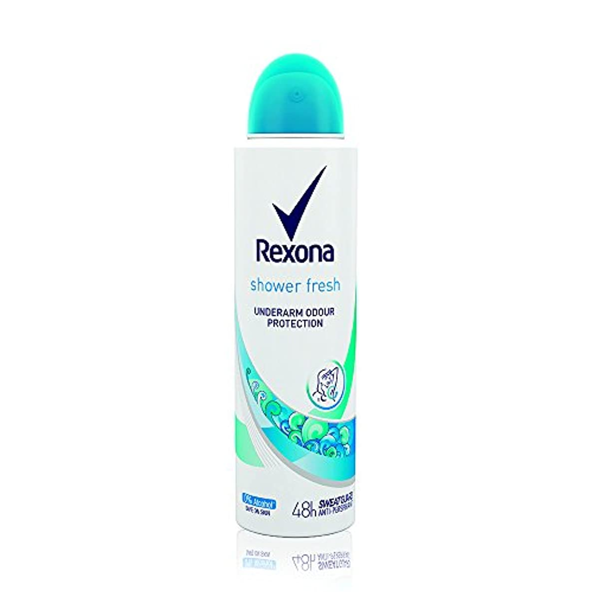 着替えるカリングRexona Women Shower Fresh Deodorant, 150ml