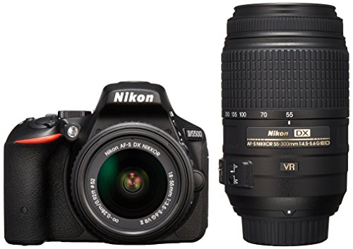 Nikon デジタル一眼レフカメラ D5500 ダブルズームキ...