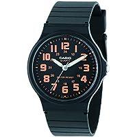 カシオ CASIO クオーツ メンズ 腕時計 MQ-71-4B ブラック/オレンジ [並行輸入品]