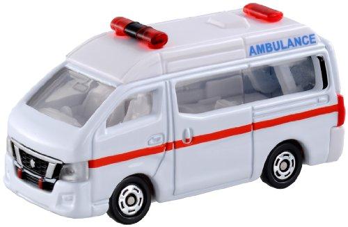 トミカ 018 日産 NV350 キャラバン 救急車