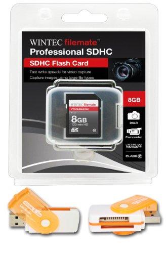 8GB 20MB /秒クラス10SDHCカード高速メモリチーム。最速でカードの市場Casio Exilim EX - ex-770ex-f1fc100。無料の高速USBアダプタが付属。Comes with永久保証。