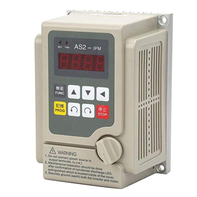 飼料刺します通訳ZGQA-GQA 可変周波数コンバータインバータ、単相入力/ 3フェーズ出力0.75KWモーター用220V可変周波数コンバータインバーター