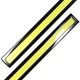 LED プレート型 17cm 防水 デイライト 12v (ホワイト / ブラック)