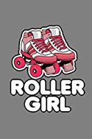 Roller Girl: With a matte, full-color soft cover this Cornell lined notebook is the ideal size (6x9in) 54 pages to write in. It makes an excellent gift too