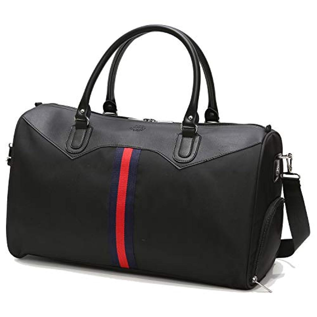 定期的なリーク整然とした[TcIFE] ボストンバッグ レディース メンズ 大容量 2WAY 修学 旅行トラベルバッグ 収納バッグ