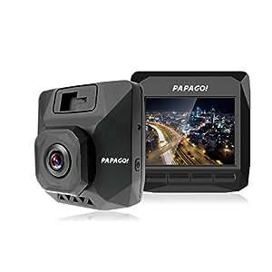目立たず邪魔にならないデザインで最大64GBまで対応する高画質フルHDドライブレコーダー GPS付属 GoSafe D11 GS-D11-GPS16 GS-D11-GPS16