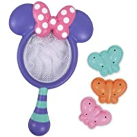 Sassy Disney Minnie Catch and Count Butterfly Net Bath Toy by Sassy [並行輸入品]