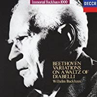 Beethoven: Diabelli Variations by Wilhelm Bachhaus (2015-11-04)