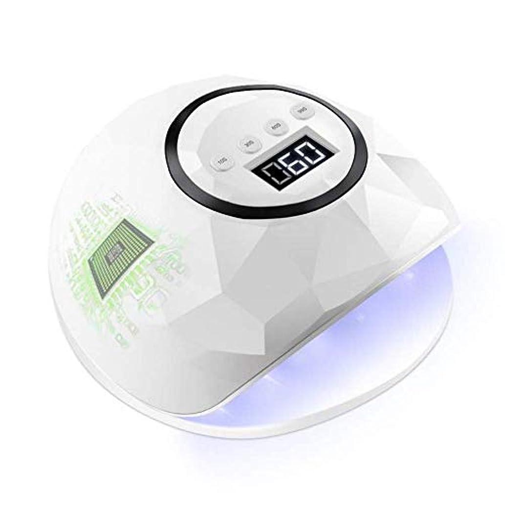 真剣に到着派生するネイルドライヤー72ワットネイルドライヤーLEDデュアルUV LEDネイルランプ用硬化UVジェルネイルポリッシュセンサー付きネイルアートランプLedマニキュア