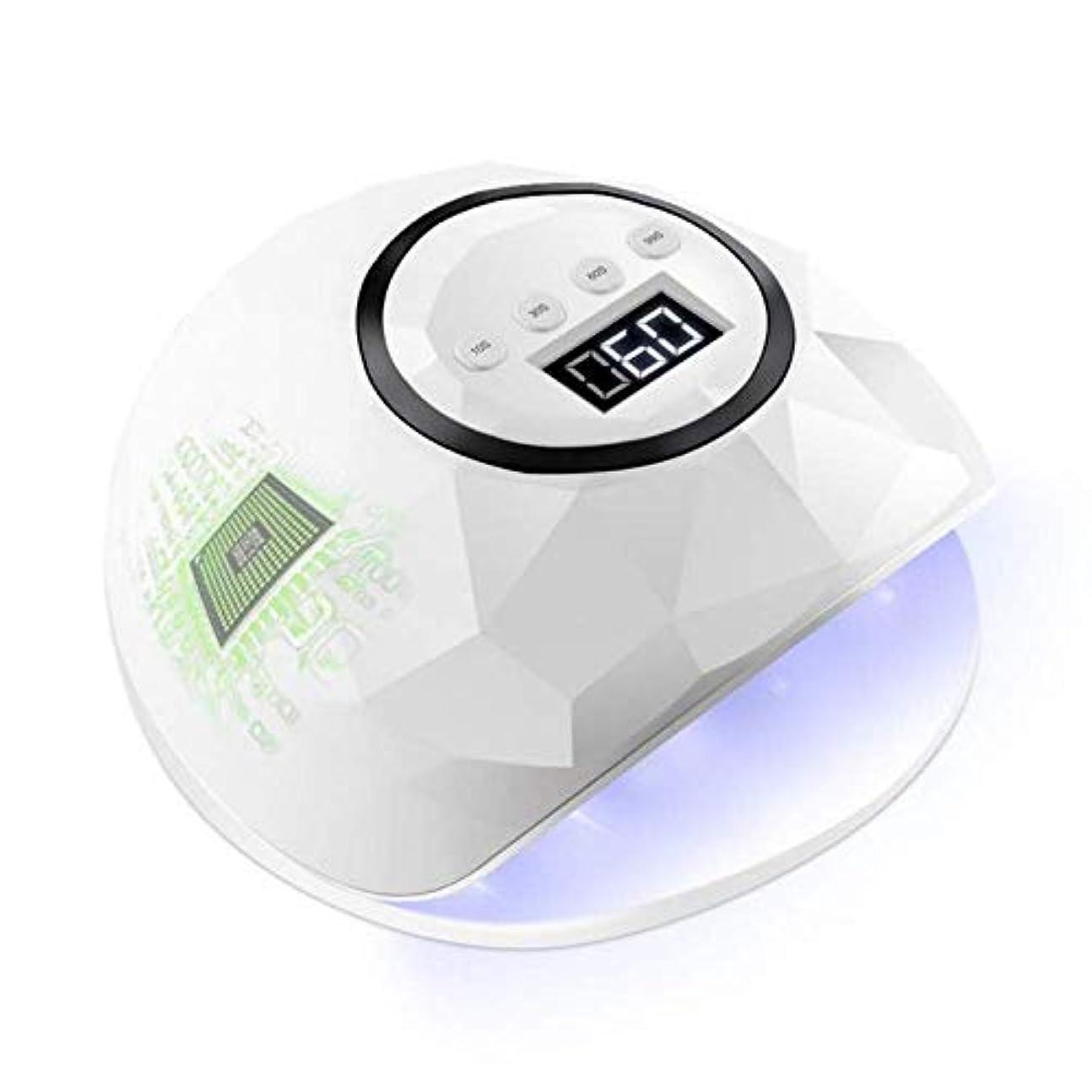モンキー申請中災難ネイルドライヤー72ワットネイルドライヤーLEDデュアルUV LEDネイルランプ用硬化UVジェルネイルポリッシュセンサー付きネイルアートランプLedマニキュア