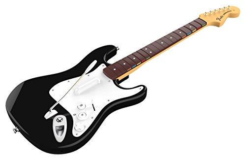 Mad Catz Rock Band 4 Wireless Fender Stratocaster Guitar Controller Xbox One Black マッドキャッツ ロックバンド 4 ワイヤレス フェンダー ストラトキャスター ギター コントローラー ブラック (Xbox One 海外輸入北米版周辺機器)