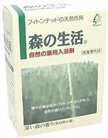 森の生活 薬用入浴剤 6包入(乳白色)