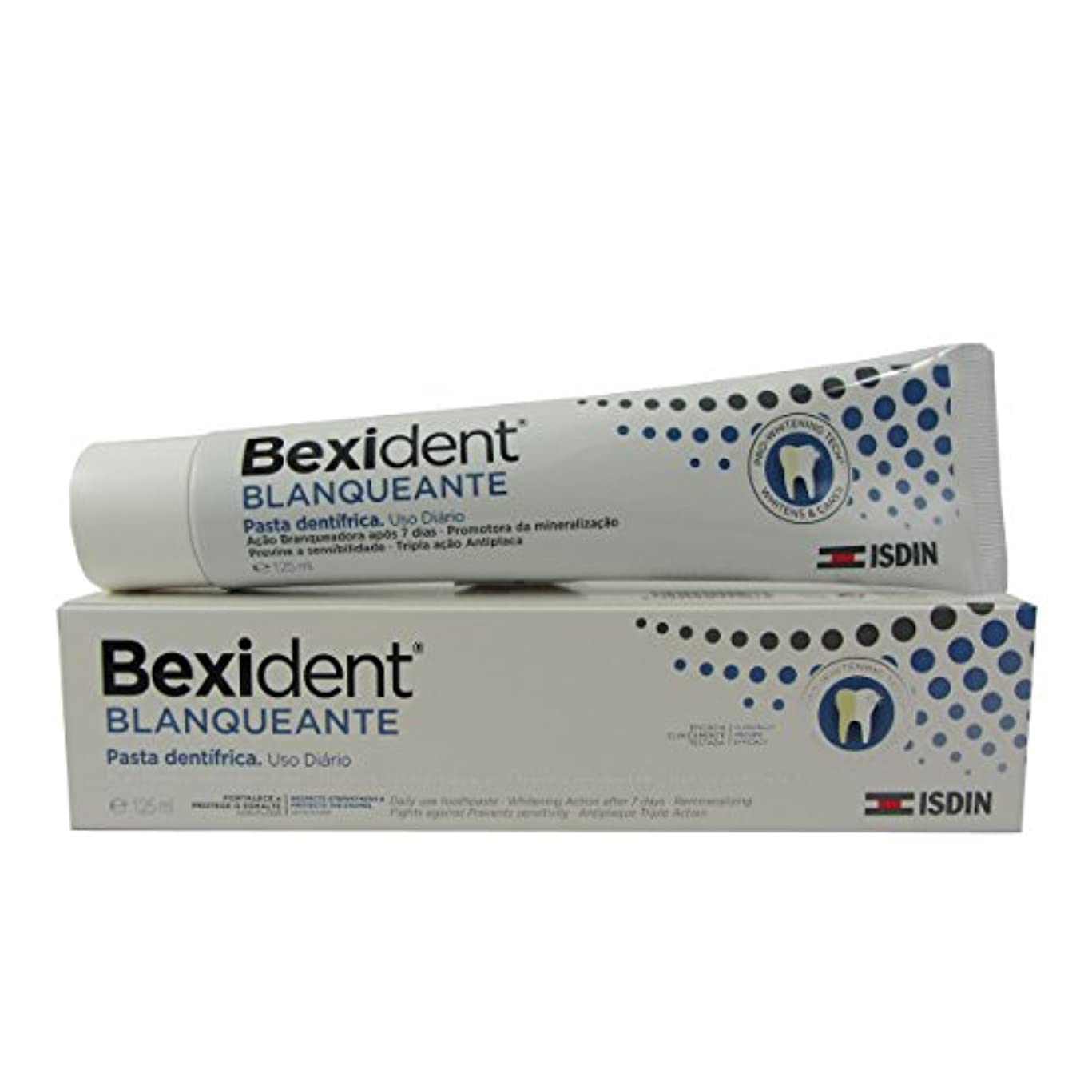 壮大なトランスペアレント理想的Bexident Whitening Toothpaste 125ml [並行輸入品]
