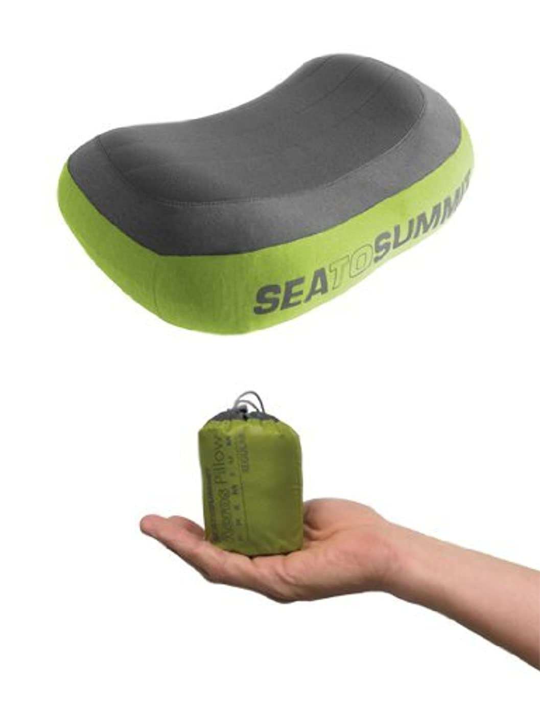 校長ドナーまばたきSea to Summit Aeros Pillow Premium (Large / Green) [並行輸入品]