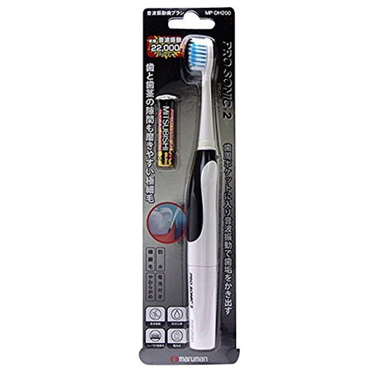 有害な無能検索エンジンマーケティング音波振動歯ブラシ PROSONIC2(プロソニック ツー) MP-DH200BK ブラック