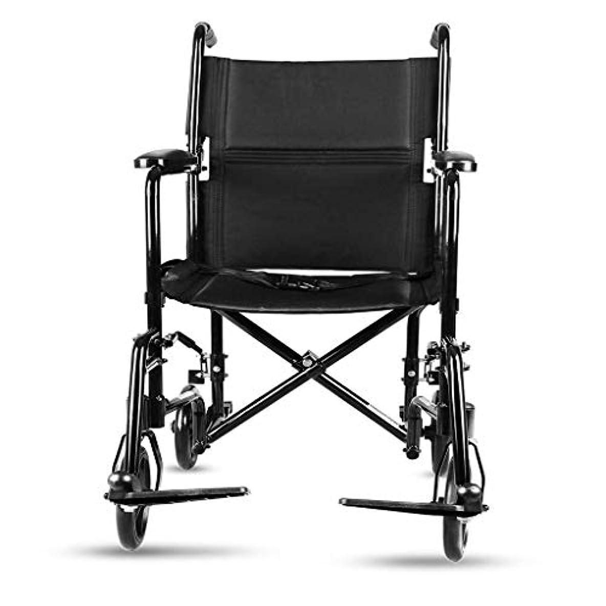 背の高い排他的邪魔するアルミ合金の車椅子、折る携帯用歩行器の補助歩行者の4つの車輪のショッピングカートのハンドブレーキが付いている頑丈な歩行者