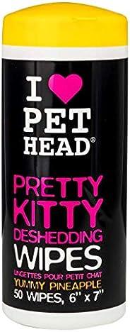PET HEAD CAT - Pretty Kitty Wipes 50pk