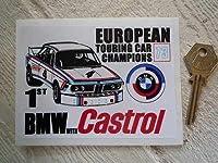 Castrol & BMW Euro Touring Car Champions 1973 Sticker ステッカー デカール シール 海外限定 120mm x 90mm [並行輸入品]