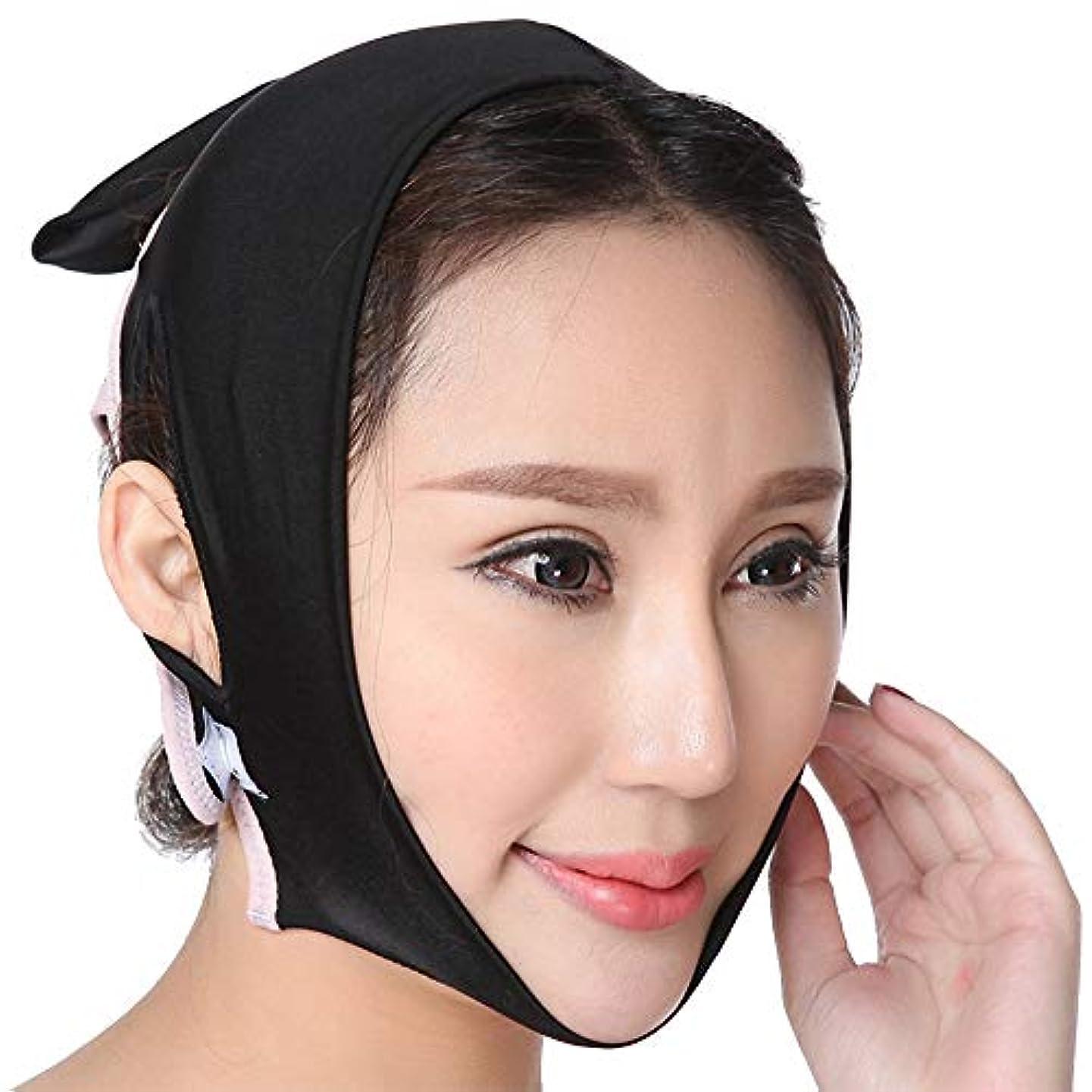 寝室を掃除する割り当て放散するフェイススリミングチークマスク、フェイススリムマスク、フェイシャルチークVシェイプリフトアップシンマスクストラップフェイスラインアンチリンクルビューティーツールダブルチン