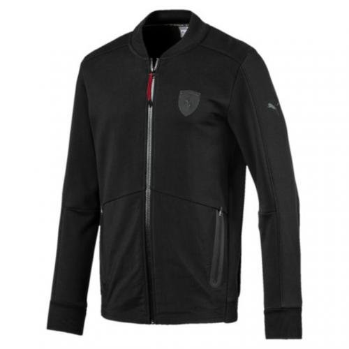 PUMA プーマ × フェラーリ スウェットジャケット パーカー ジップアップ ブラック 573460-01 L 新品正規品