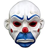 ハロウィーンマスクレジンクラウングラミスバンディットスクールボールマスクユニセックス24.5x27CM