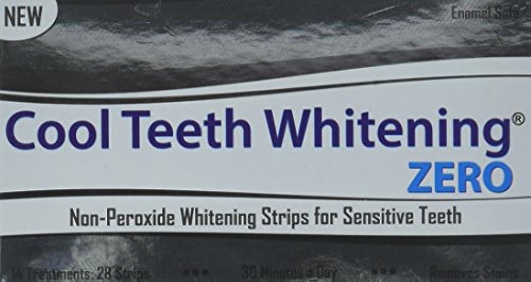 スロープを除く周辺Cool Teeth Whitening Zero Peroxide Strips for Sensitive Teeth and Gums Whitener Band Kit 28 Pcs 14 Treatments...