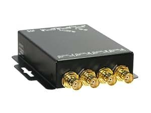 Hanwha SDI スプリッタ 1入力 6出力 リクロック対応 カスケード接続対応 HC-SS1601 [スプリッター 分配器 延長]