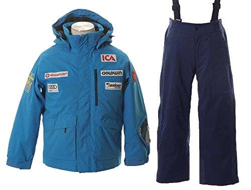 GOLDWIN(ゴールドウィン)スウェーデン レプリカ ブライトジャケット & SHINY PANTS GJ11601P/GJ31601P CB×I...