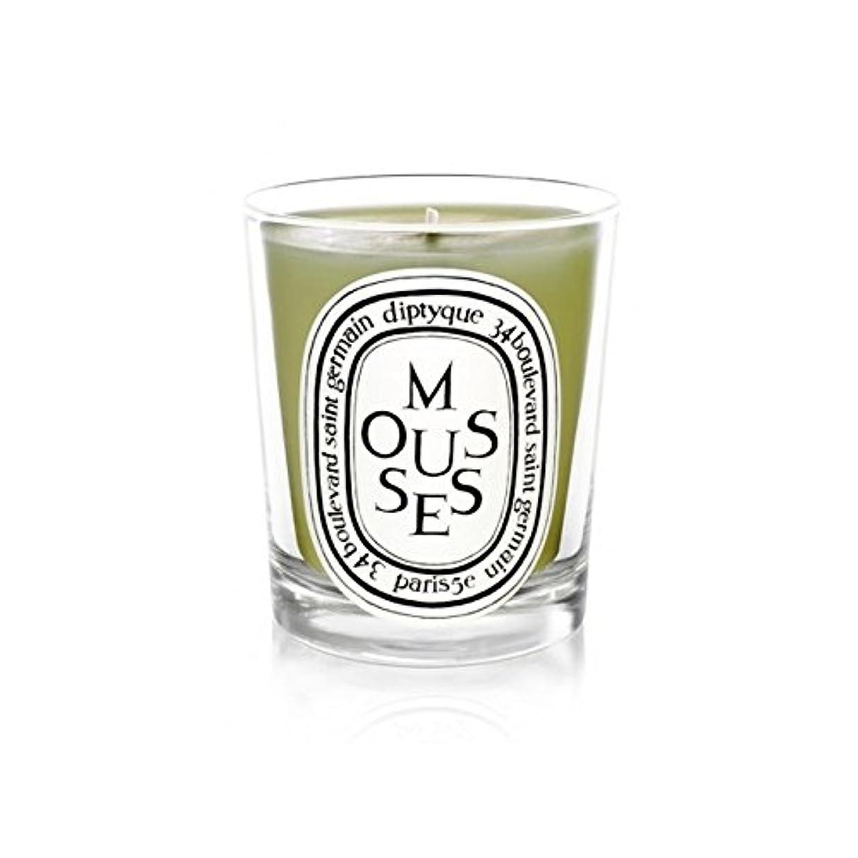 口述不変イタリックDiptyque Candle Mousses / Moss 190g (Pack of 2) - Diptyqueキャンドルムース/苔190グラム (x2) [並行輸入品]