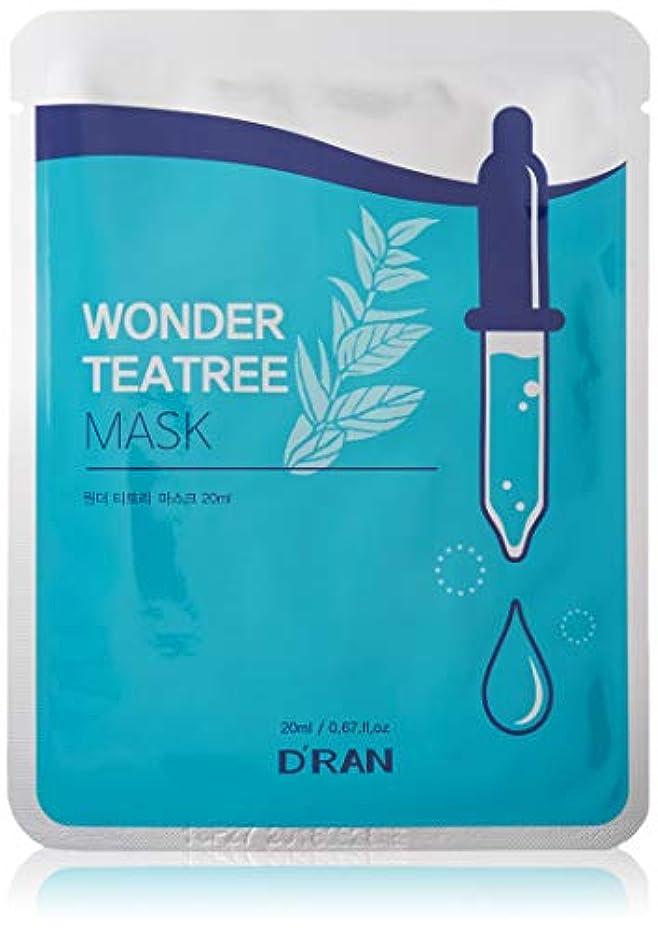 珍しい感情のあいにくWonder Tea tree Mask (1set_10pcs)