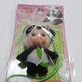 横浜中華街 限定 熊猫 ご当地 キューピー 根付け