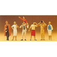 STANDING SPECTATORS - PREISER HO SCALE MODEL TRAIN FIGURES 10026 by Preiser [並行輸入品]
