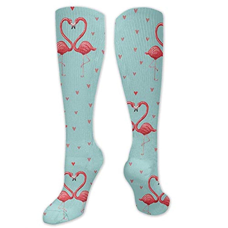 封建促す求める靴下,ストッキング,野生のジョーカー,実際,秋の本質,冬必須,サマーウェア&RBXAA Flamingos Pattern Socks Women's Winter Cotton Long Tube Socks Cotton...