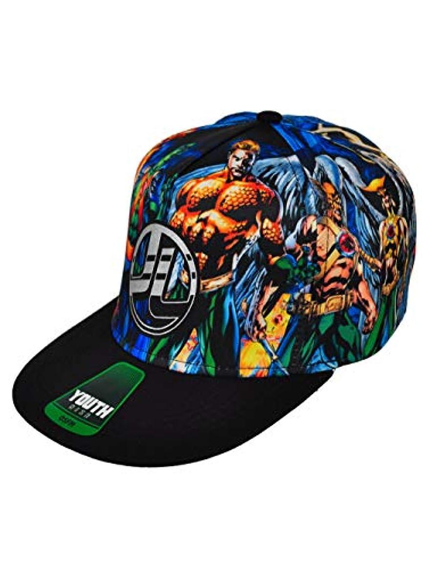 Justice League HAT ボーイズ US サイズ: Medium カラー: マルチカラー