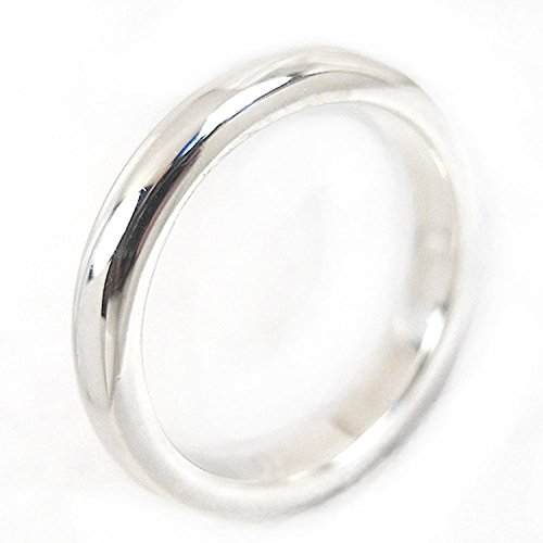 シルバー 925 甲丸 リング 3mm 指輪 シンプル1号〜30号