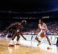 kk184アレンアイバーソン、AIバスケットボールスターポスター24×22
