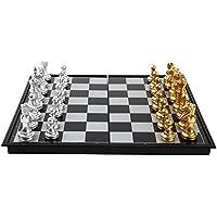 【四葉堂オリジナル】紛失用 駒2個セット マグネット式 金と銀のチェス