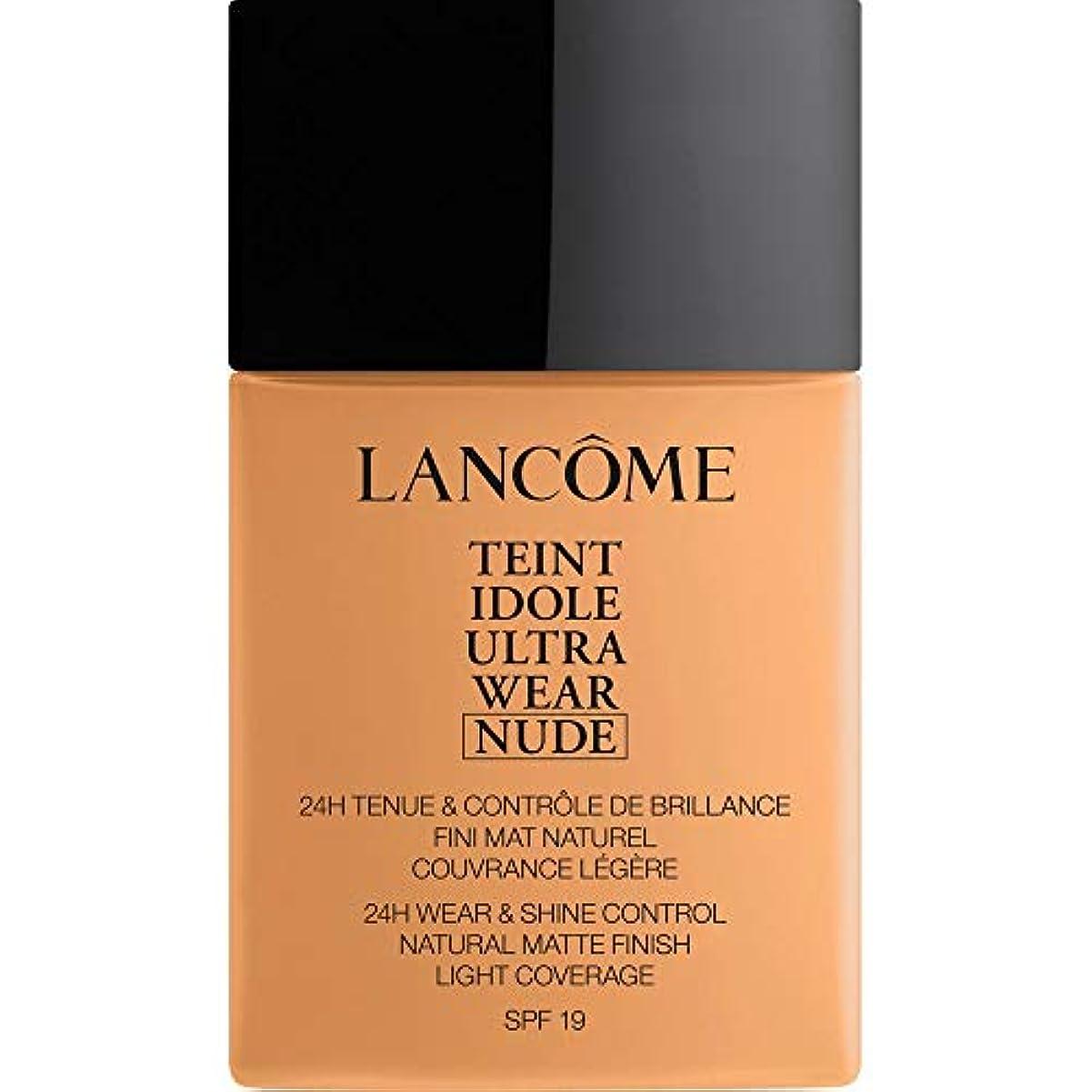 大きさチャンバーリングバック[Lanc?me ] ランコムTeintのIdole超摩耗ヌード財団Spf19の40ミリリットル051 - Chataigne - Lancome Teint Idole Ultra Wear Nude Foundation...